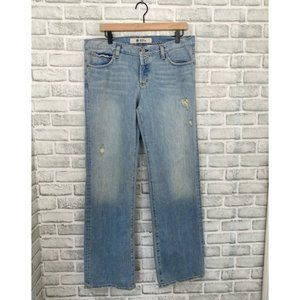 Women Gap Original Boy Cut Straight Leg Jeans